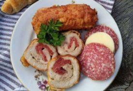 BUDIMSKE ROLNICE ZA ČISTU PETICU Meso, sir, kobasice i eto ručka koji će svi da obožavaju