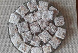 NEODOLJIVI, POSNI ČUPAVCI Čokoladne kocke tako ukusne i jednostavne za pripremu