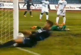 OVO JE BILO BOLNO Fudbaler Spartaka zaista nije imao sreće (VIDEO)