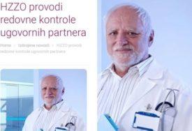 """LJUDI, VI NE ZNATE KO JE HAROLD"" Zbog slike na sajtu Zavoda za zdravstveno osiguranje TVITER GORI"