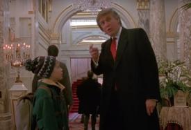"""FILMOVI U KOJIMA JE TRAMP GLUMIO SAM SEBE """"Nije Bajden pomogao Kevinu da nađe predvorje hotela"""" (VIDEO)"""