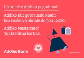 ISKORISTITE ADDIKO POGODNOSTI Gotovinski kredit bez troškova obrade i plaćanje Mastercard 3 u 1 kreditnom karticom po želji
