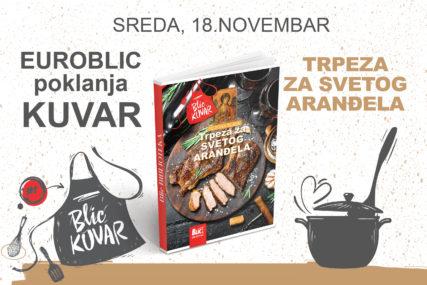 """TRPEZA ZA SVETOG ARANĐELA """"EuroBlic"""" 18. novembra poklanja novu knjigu"""