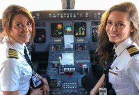 Bilo je to nešto posebno: Majka i kćerka piloti prvi put zajedno poletjele (FOTO)