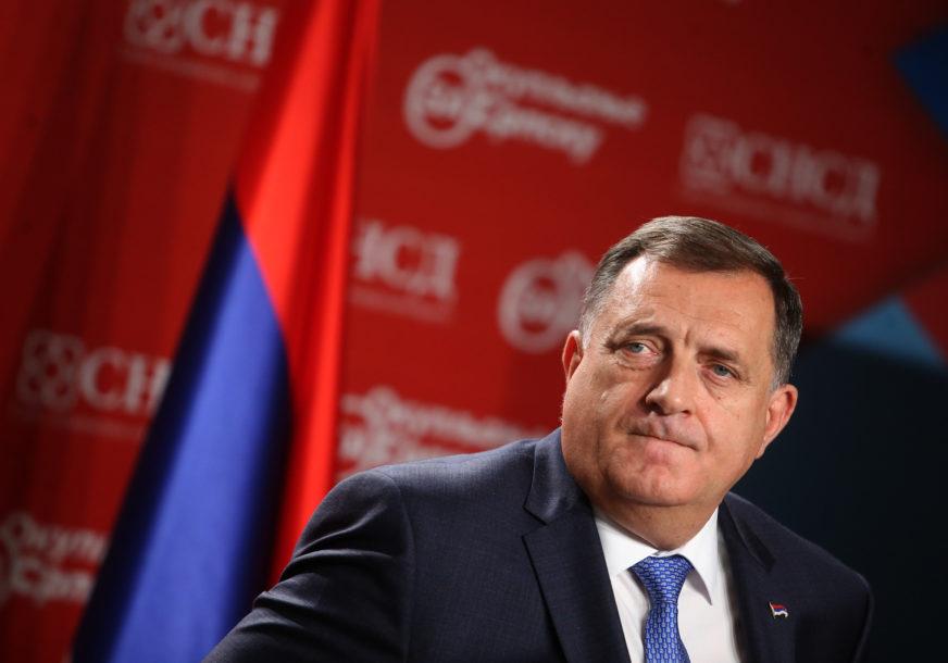 """""""BiH IMA MEĐUNARODNU SUPERVIZIJU"""" Dodik poručio da visoki predstavnik ne može Srpskoj da učini nikakvo zlo"""