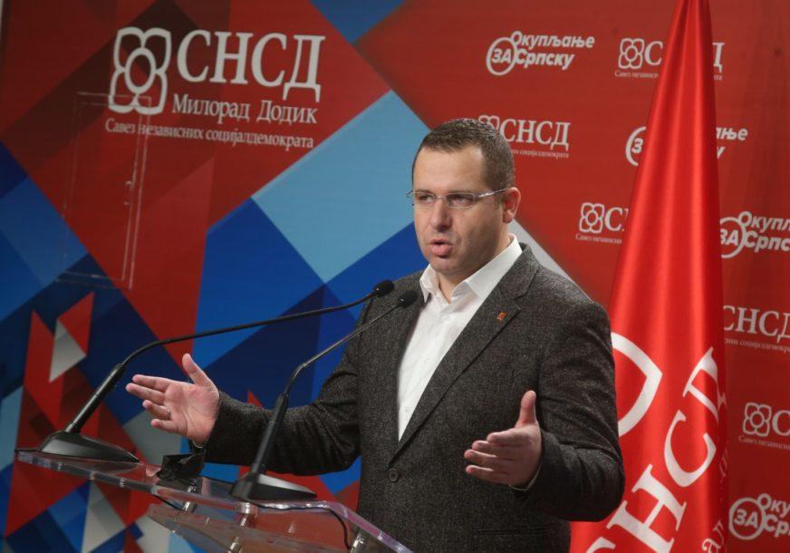 Kovačević: Bez obzira na horske žalopojke iz opozicije, NEMA RAZDORA između Dodika i Vučića
