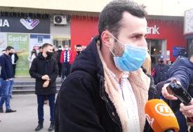 """""""OGORČENI SMO, TRAŽIMO BOLJU ZAŠTITU"""" Sarajlije na ulici zbog ubistva sugrađanina"""