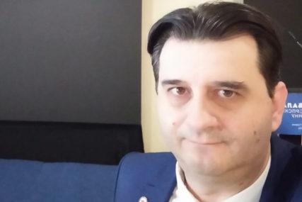"""""""HUMANO SRCE SRPSKE"""" Promocija knjige Slavka Basare u NUB RS"""