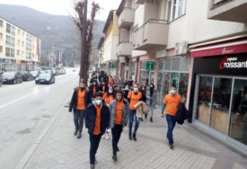 NARANDŽASTA ŠETNJA Iz organizacije IOM poručili da se mora reagovati na nasilje nad ženama