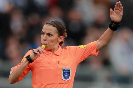 FRAPAROVA ULAZI U ISTORIJU Prva žena sudija na utakmici Lige šampiona
