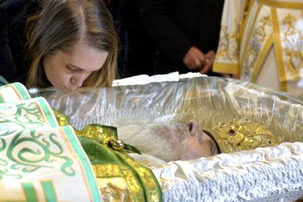 LITURGIJA U SABORNOJ CRKVI Nakon službe tijelo upokojenog patrijarha biće preneseno u Hram Svetog Save