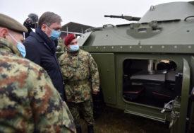 """NASTAVLJAMO DA JAČAMO VOJSKU"" Srbija predstavila nove tenkove"