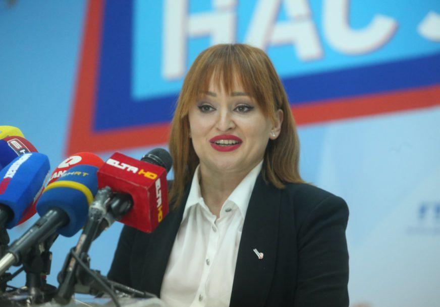 """""""Dok građani čekaju vakcine, SNSD organizuje tucijadu"""" Petrovićeva poručila da ljudima treba sigurnost, a ne odmjeravanje snage sa Dodikom"""