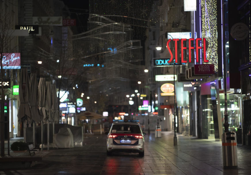 POLICIJSKI ČAS OD 20 ČASOVA DO ŠEST UJUTRO Zaključavanje Austrije produženo za JOŠ DESET DANA