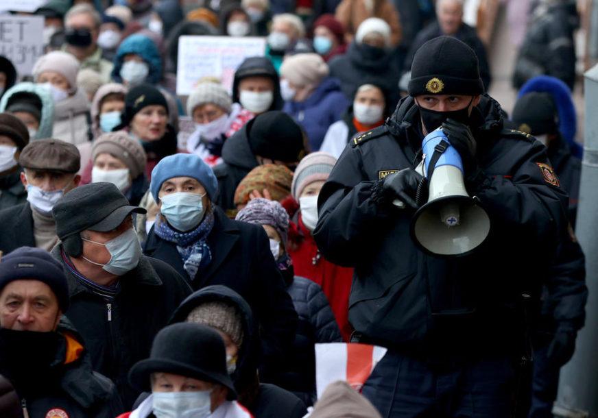 NOVI PROTEST U MINSKU Uhapšene desetine ljudi, policija koristila OMAMLJUJUĆE GRANATE