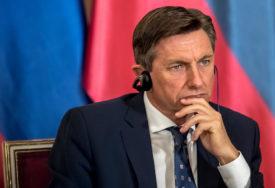 U PROTESTIMA PROTIV  MJERA VIŠE UHAPŠENIH Pahor: Nasiljem se ne mogu ostvarivati politički ciljevi