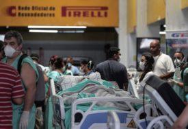 DRUGI U SVIJETU PO BROJU UMRLIH U Brazilu skoro 50.000 novih slučajeva korone, 698 osoba preminulo