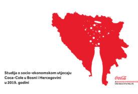STUDIJA Coca-Cola u BiH podržava 5.200 RADNIH MJESTA