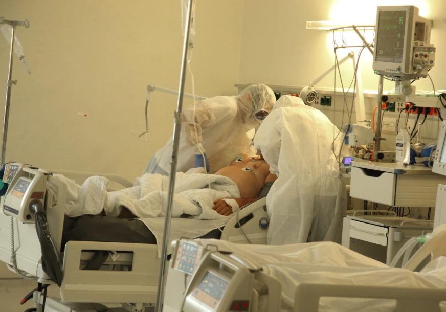 NA RESPIRATORIMA 63 PACIJENTA U bolnicama u Srpskoj od korone se liječi 1.189 ljudi