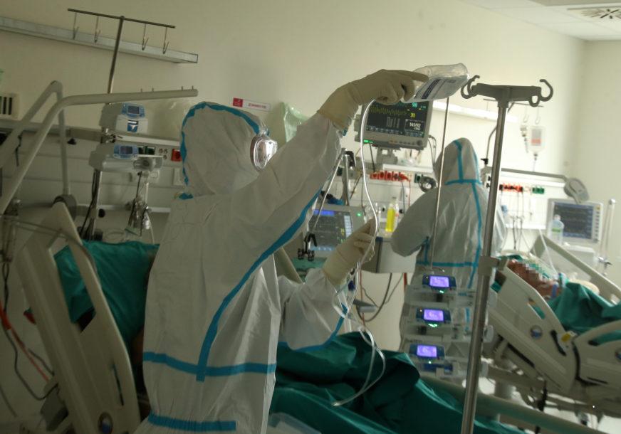 BORBA SA KORONA VIRUSOM U kovid bolnicama 403 pacijenta, na respiratorima 36