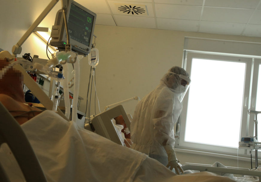 OVE BROJKE NISU DOBRE U ovoj bolnici više od polovine pacijenata na respiratoru
