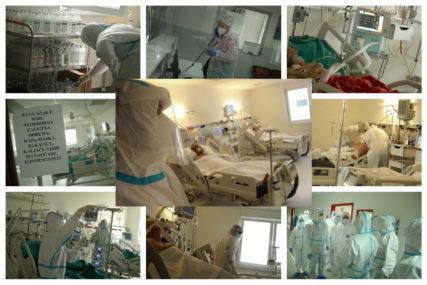 RIJEČI UTJEHE I POGLED OHRABRENJA Srpskainfo u kovid bolnici s medicinarima, koji se nadljudski BORE ZA SVAKI ŽIVOT (FOTO)