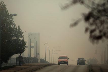 OPREZNO U VOŽNJI Kolovozi vlažni zbog magle, smanjena vidljivost uz riječne tokove