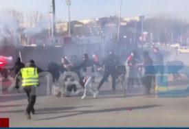 ŽESTOK SUKOB O tuči navijača u Sjevernoj Makedoniji bruji region (VIDEO)