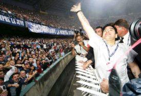 """""""SADA JE VRIJEME ZA SUZE"""" Poruka koja kida srce, stadion """"San Paolo"""" će nositi Maradonino ime?"""