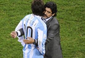 NA TERENU MESI I MARADONA Snimak koji je rasplakao Argentinu (VIDEO)