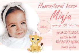 U PETAK HUMANITARNI BAZAR Dubičani se pridružuju akciji za Minju Matić