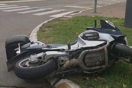 NEOBIČAN INCIDENT Bajker žurio na botoks pa uletio u salon na motoru