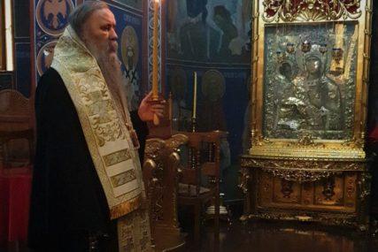 U MANASTIRU SVETOG VASILIJA OSTROŠKOG Pomen Patrijarhu srpskom Irineju služio Episkop Fotije