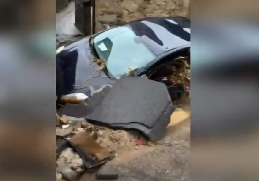 STRAŠNO NEVRIJEME NA JUGU ITALIJE Najmanje tri osobe stradale u poplavama na Sardiniji (VIDEO)