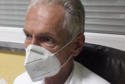 """""""Bolest teža i smrtonosnija, pacijenti sve češće mladi"""" Direktor trebinjske bolnice o borbi sa virusom korona"""