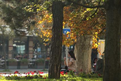 Jesen u svojim bojama: Danas veoma toplo, poslije podne moguća kiša