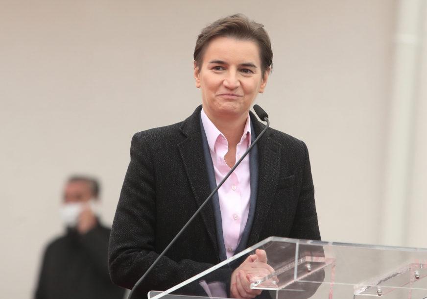 """Brnabić: """"Goldman Saks"""" razmatra ulaganje u Srbiju"""