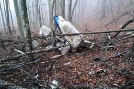 OLUPINU AVIONA TEŠKO IZVUĆI Transport tijela stradalih sa mjesta nesreće na Kozari očekuje se u toku dana