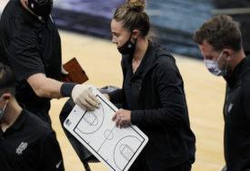 ZA ISTORIJU Prva žena vodila NBA tim (VIDEO)