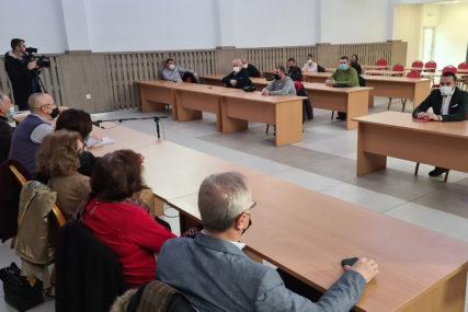 SUSRED JERINIĆA I ČLANOVA GIK DOBOJ Predočen zahtjev za održavanje sastanka sa CIK