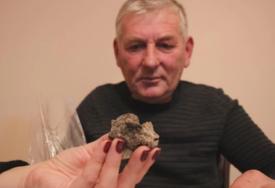 """""""METEOR MI JE PAO NA IMANJE"""" Dragan je primijetio krater koji se pušio, a kada je prišao IMAO JE ŠTA I DA VIDI"""