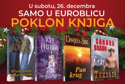 """POKLANJAMO NOVE KNJIGE Kupite """"EuroBlic"""" i dobićete jedan od četiri BESTSELERA"""