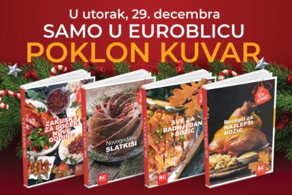 """NOVOGODIŠNJA SEDMICA DARIVANJA """"EuroBlic"""" danas poklanja četiri kuvara"""