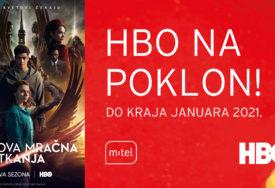 HBO NA POKLON DO KRAJA JANUARA 2021. Uživajte u najboljim TV sadržajima uz m:tel IPTV