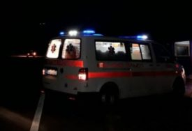 Drama kod Sarajeva: Vozaču pozlilo u vožnji, reagovala Hitna pomoć