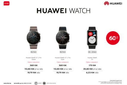 Iskoristite PRAZNIČNI POPUST i dodajte vašem stilu Huawei Watch PAMETNI SAT