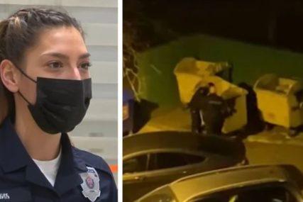 """""""NA DNU KONTEJNERA OSJETILA SAM TRZAJ"""" Policajka koja je izvadila bebu iz smeća, PLAKALA tokom akcije spasavanja"""