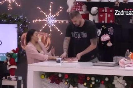 """""""IMAM NOŽ, SKLONI SE"""" Maja i Janjuš u žestokom okršaju u Zadruzi"""