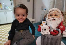 Mihailo će uskoro napuniti dvije godine i JEDINO ŠTO BI TRAŽIO od Djeda Mraza jeste da BUDE ZDRAV