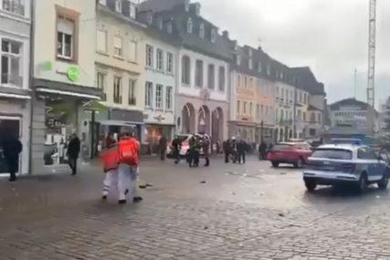 """""""NAPADAČ JE BIO PIJAN, DANIMA BORAVIO U AUTU"""" Njemačka policija objavila detalje o monstrumu koji je pregazio pješake"""